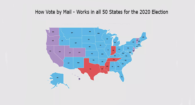How Vote by Mail - Works in all 50 States for the 2020 Election