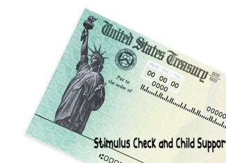 Stimulus Check and Child Support