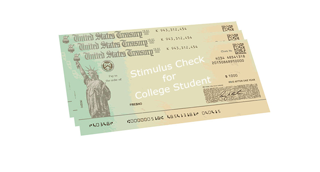 Stimulus Check for College Student