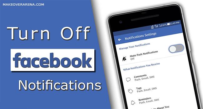 Turn Off Facebook Notification
