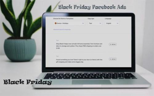 Black Friday Facebook Ads