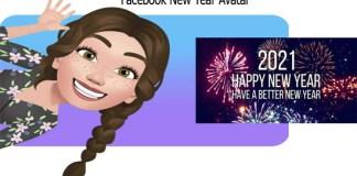 Facebook New Year Avatar
