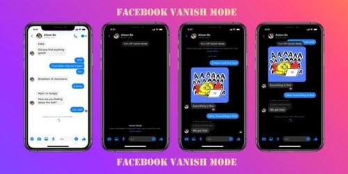 Facebook Vanish Mode