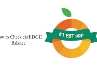 How to Check ebtEDGE Balance