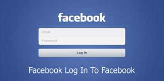 Facebook Log In To Facebook
