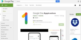 Google One Application