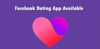 Facebook Dating App Available