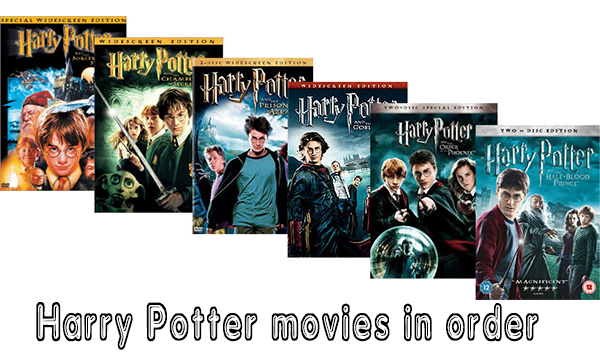 Harry Potter movies in order