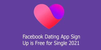 Facebook Dating App Sign Up is Free for Single 2021