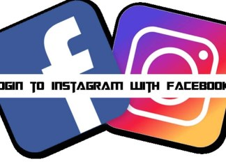 How to Login to Instagram With Facebook Details
