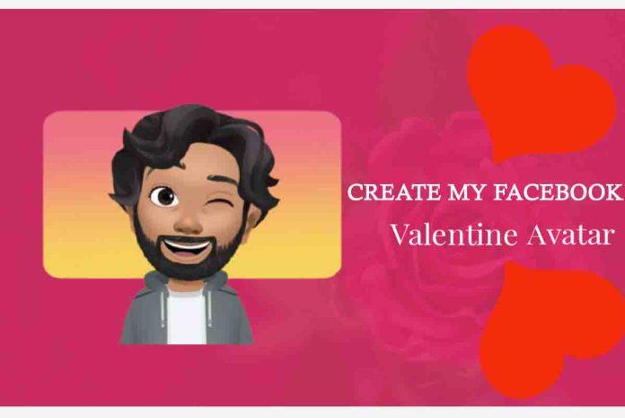 Create My Facebook Valentine Avatar