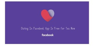 Dating In Facebook App Is Free for You Now