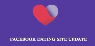 Facebook dating site update