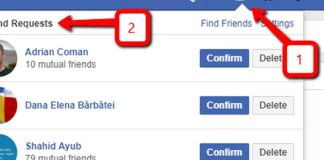 How to Cancel a Friend Request on Facebook