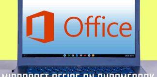 Microsoft Office On Chromebook