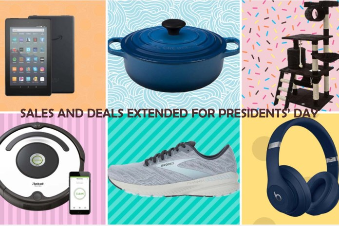 Sales and Deals Extended for Presidents' Day