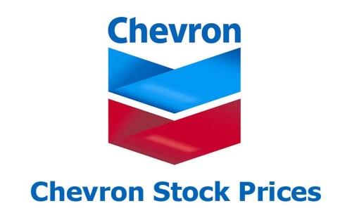 Chevron Stock Prices