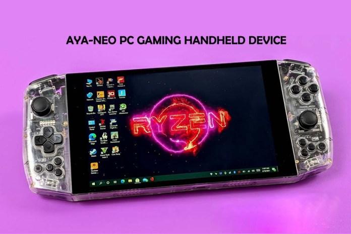AYA-NEO PC Gaming Handheld Device