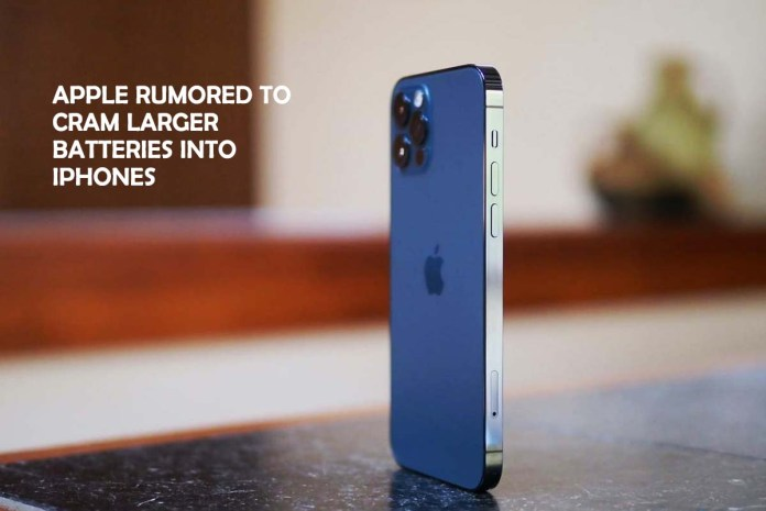 Apple Rumored to Cram Larger batteries into iPhones
