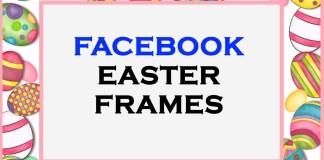 Facebook Easter Frames
