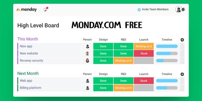 Monday.com Free