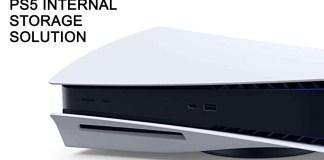 PS5 Internal Storage Solution