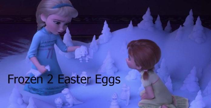Frozen 2 Easter Eggs