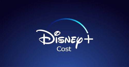 Disney Plus Cost