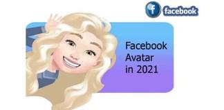 Facebook Avatar in 2021