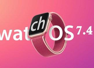 Apple WatchOS 7.4 Update