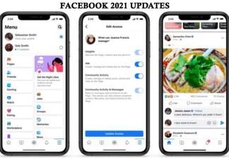 Facebook 2021 Updates