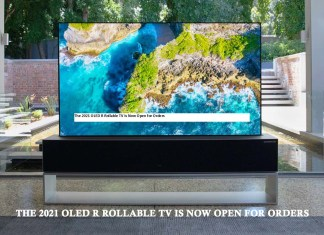 The 2021 OLED R Rollable TV is Now Open for Orders