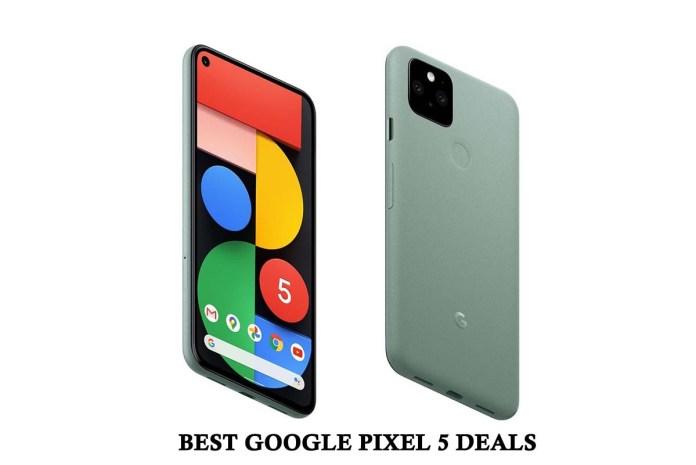 Best Google Pixel 5 Deals