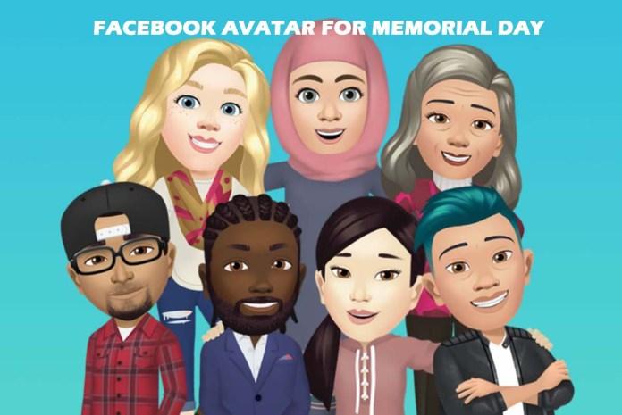 Facebook Avatar for Memorial Day