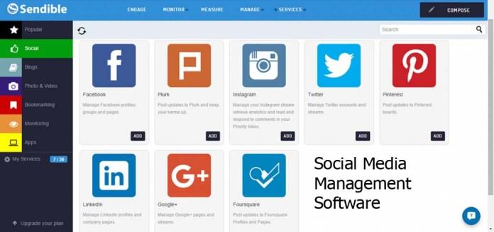 Social Media Management Software