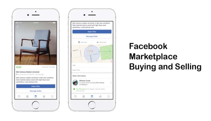 Facebook Marketplace Buying and Selling