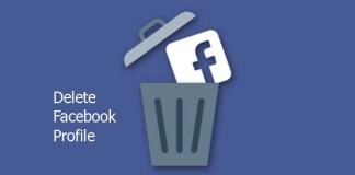 Delete Facebook Profile
