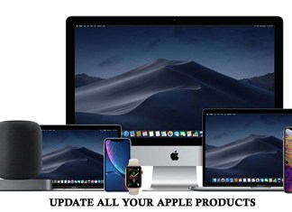 Update All Your Apple Products