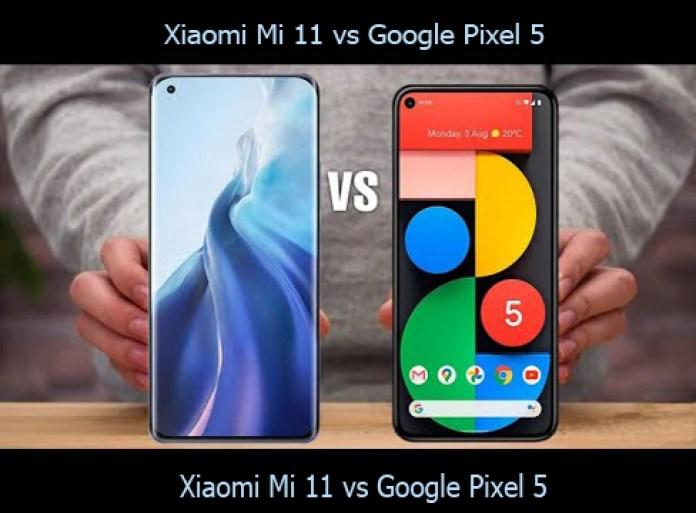Xiaomi Mi 11 vs Google Pixel 5