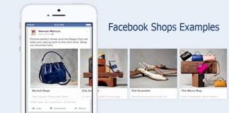 Facebook Shops Examples