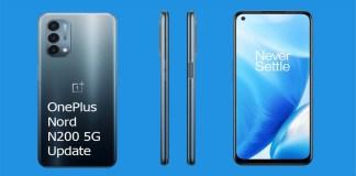 OnePlus Nord N200 5G Update