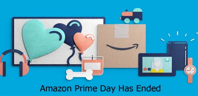 Amazon Prime Day Has Ended