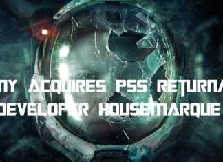 Sony Acquires PS5 Returnal Developer Housemarque