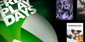 Xbox Free Play Days Weekend