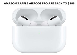 Amazon's Apple AirPods Pro Are Back to $189 Again