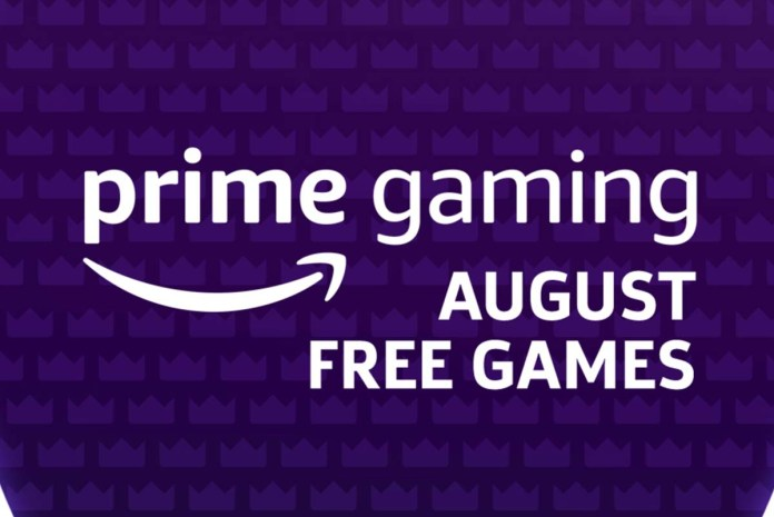 Amazon's Prime Free Games for August