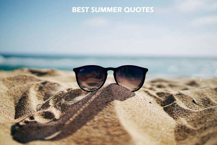 Best Summer Quotes