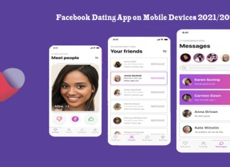 Facebook Dating App on Mobile Devices 2021/2022