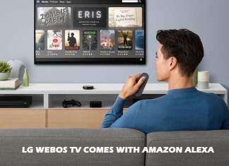 LG webOS TV Comes with Amazon Alexa