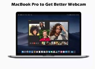 MacBook Pro to Get Better Webcam